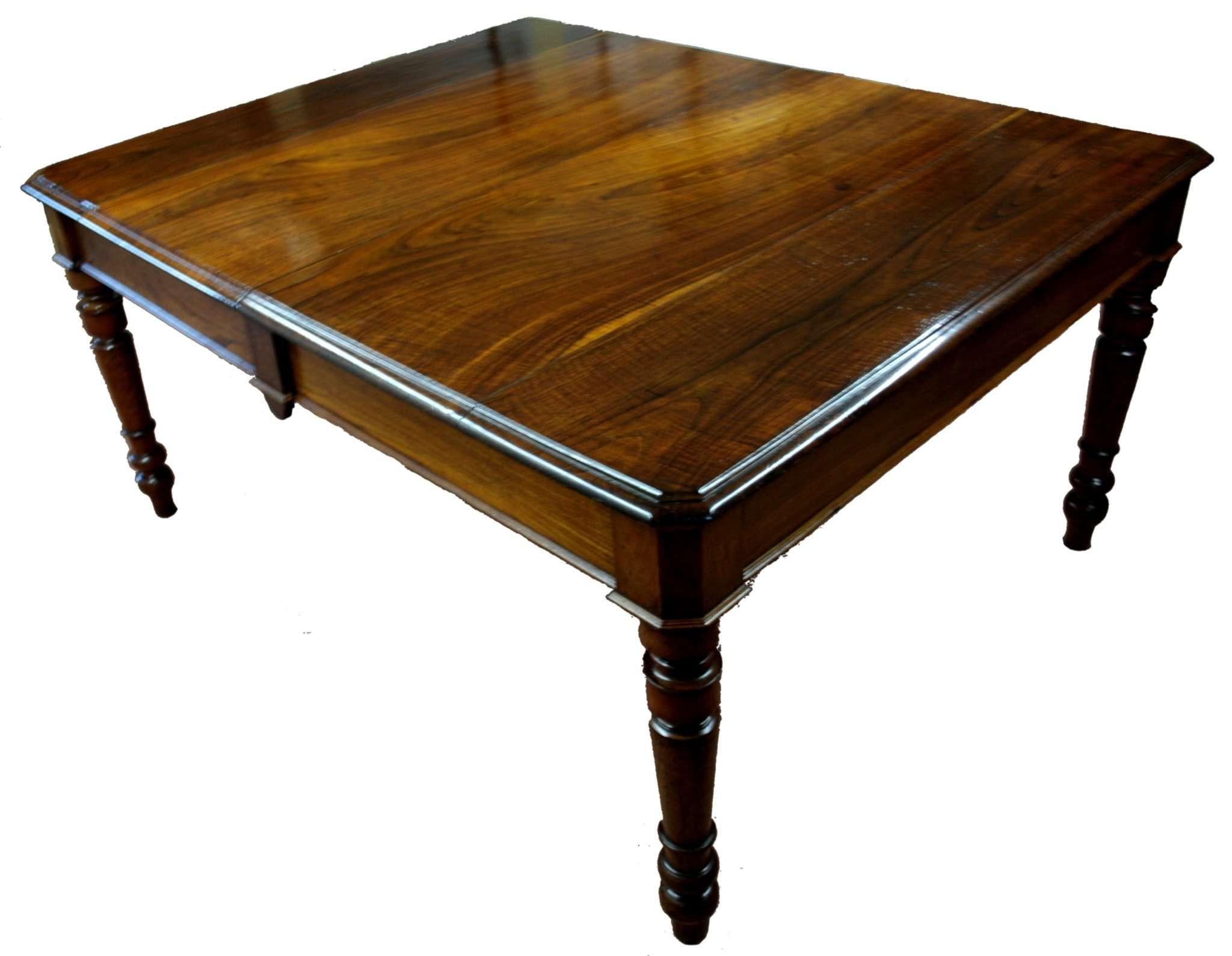 Mètres Cerisier Table À 3 Et Bois Restaurée De Châtaignier Extensibles En 1800 Manger zUMVpqS