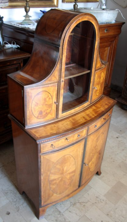 Ancien anglais George III vitrine du début du XIXe siècle