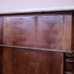 Restoration walnut drawer dresser